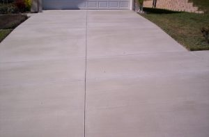 Driveway coated with Recoat
