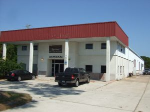 Front of the Renew Crete Warehouse and Showroom